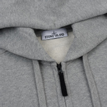 Мужская толстовка Stone Island Hooded Full Zip Grey фото- 1