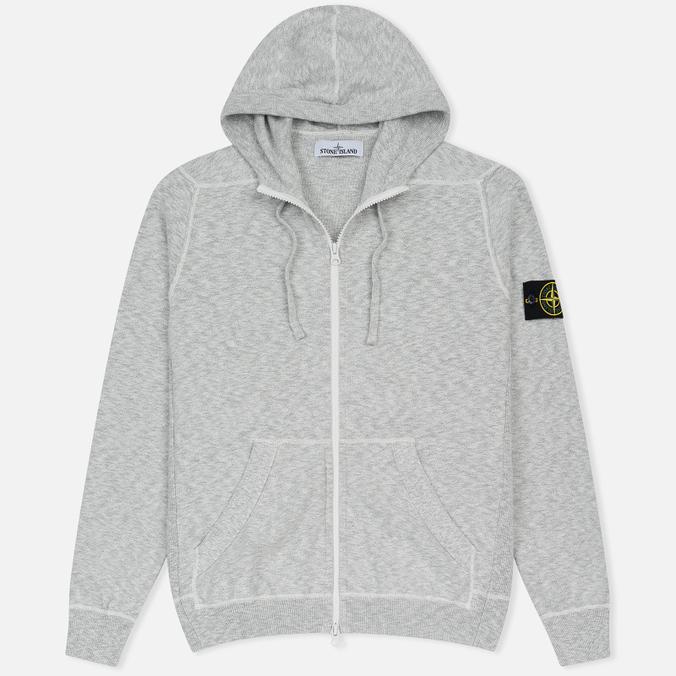 Мужская толстовка Stone Island Hooded Knit Grey
