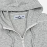 Мужская толстовка Stone Island Hooded Knit Grey фото- 1