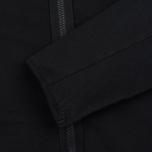 Мужская толстовка Stone Island Hoodie Jersey Full Zip Black фото- 2