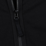 Мужская толстовка Stone Island Hoodie Jersey Full Zip Black фото- 5