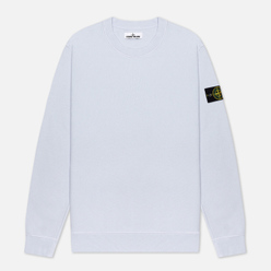 Мужская толстовка Stone Island Lightweight Loopback Cotton Crew Neck Cielo