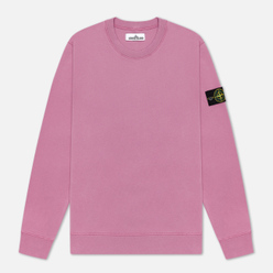 Мужская толстовка Stone Island Lightweight Loopback Cotton Crew Neck Quartz Pink