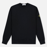 Мужская толстовка Stone Island Patch Crew Neck Black фото- 0