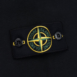 Мужская толстовка Stone Island Patch Crew Neck Black фото- 3