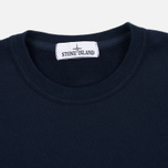 Мужская толстовка Stone Island Patch Crew Neck Blue фото- 1