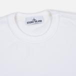 Stone Island Patch Crew Neck Men's Sweatshirt White photo- 1