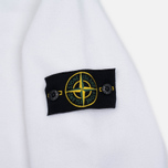 Stone Island Patch Crew Neck Men's Sweatshirt White photo- 2