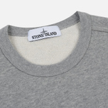 Мужская толстовка Stone Island Pocket Brushed Cotton Fleece Dust фото- 1