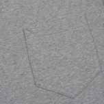 Мужская толстовка Stone Island Pocket Brushed Cotton Fleece Dust фото- 2