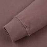 Мужская толстовка Stone Island Pocket Brushed Cotton Fleece Pink Quartz фото- 3