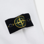 Мужская толстовка Stone Island Pocket Brushed Cotton Fleece White фото- 4