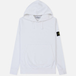 Мужская толстовка Stone Island Pouch Pocket Hooded White фото- 0