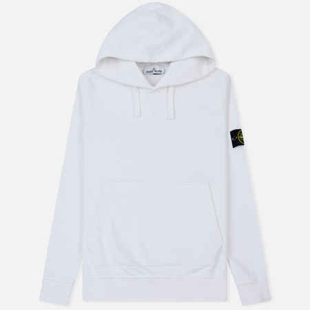 Мужская толстовка Stone Island Pouch Pocket Hooded White