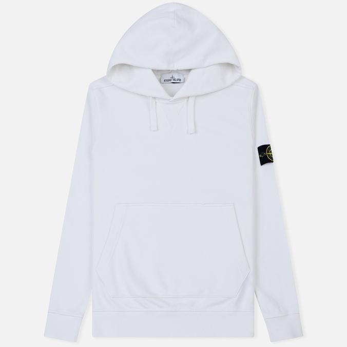 Мужская толстовка Stone Island Pouch Pocket Hooded White