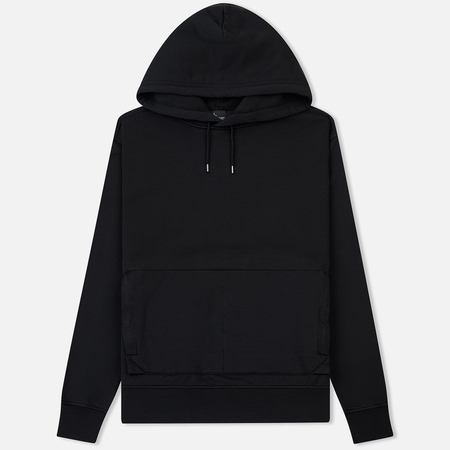 Мужская толстовка Stone Island Shadow Project Big Pocket Hoodie Black