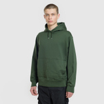 Мужская толстовка Stone Island Shadow Project Big Pocket Hoodie Bottle Green фото- 1