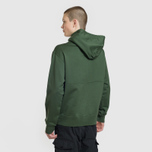 Мужская толстовка Stone Island Shadow Project Big Pocket Hoodie Bottle Green фото- 3