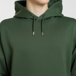 Мужская толстовка Stone Island Shadow Project Big Pocket Hoodie Bottle Green фото- 2