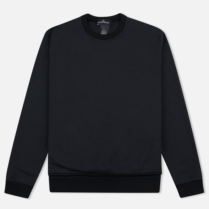 Мужская толстовка Stone Island Shadow Project Crew Neck Black