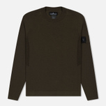 Мужская толстовка Stone Island Shadow Project Crew Neck Cotton Green фото- 0