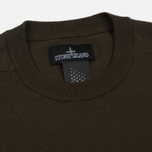 Мужская толстовка Stone Island Shadow Project Crew Neck Cotton Green фото- 1