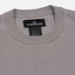 Мужская толстовка Stone Island Shadow Project Crew Neck Cotton Grey фото- 1