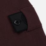 Мужская толстовка Stone Island Shadow Project Crew Neck Cotton Maroon фото- 5