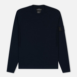 Мужская толстовка Stone Island Shadow Project Crew Neck Cotton Navy Blue фото- 0