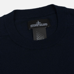 Мужская толстовка Stone Island Shadow Project Crew Neck Cotton Navy Blue фото- 1