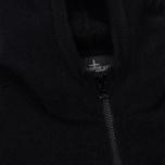 Мужская толстовка Stone Island Shadow Project Engineered Hooded Strata Pocket Black фото- 2