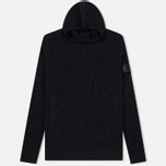 Мужская толстовка Stone Island Shadow Project Knitted Hoodie Virgin Wool/Silk Blend Black фото- 0