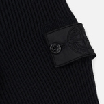 Мужская толстовка Stone Island Shadow Project Knitted Hoodie Virgin Wool/Silk Blend Black фото- 4