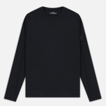 Мужская толстовка Stone Island Shadow Project Stretch Wool Intarsia Crew Neck Dark Green фото- 0