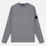 Мужская толстовка Stone Island Shadow Project Stretch Wool Intarsia Crew Neck Grey фото- 0
