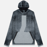Мужская толстовка Stone Island Shadow Project Teleport Hoodie Jaquard Pure Wool Black фото- 0