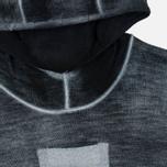 Мужская толстовка Stone Island Shadow Project Teleport Hoodie Jaquard Pure Wool Black фото- 1