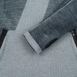Мужская толстовка Stone Island Shadow Project Teleport Hoodie Jaquard Pure Wool Black фото- 2