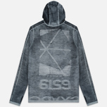 Мужская толстовка Stone Island Shadow Project Teleport Hoodie Jaquard Pure Wool Black фото- 3