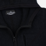 Мужская толстовка Stone Island Shadow Project Teleport Zip Hoodie Black фото- 1