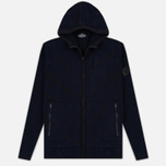 Мужская толстовка Stone Island Shadow Project Teleport Zip Hoodie Blue фото- 0