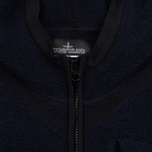 Мужская толстовка Stone Island Shadow Project Teleport Zip Hoodie Blue фото- 4
