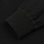 Мужская толстовка Stone Island Sweat Garment Dyed Black фото- 2