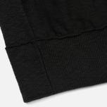 Мужская толстовка Stone Island Sweat Garment Dyed Black фото- 3