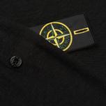 Мужская толстовка Stone Island Sweat Garment Dyed Black фото- 5