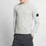 Мужская толстовка Stone Island Sweat Garment Dyed Light Grey фото- 6