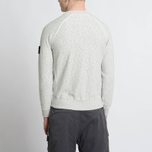Мужская толстовка Stone Island Sweat Garment Dyed Light Grey фото- 7