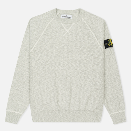 Мужская толстовка Stone Island Sweat Garment Dyed Light Grey