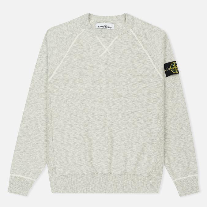 Мужская толстовка Stone Island Sweat Garment Dyed Light Grey