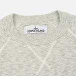 Мужская толстовка Stone Island Sweat Garment Dyed Light Grey фото- 1